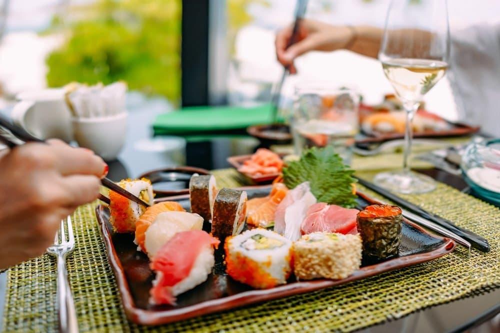 Kaika sushi  by Sven Parys