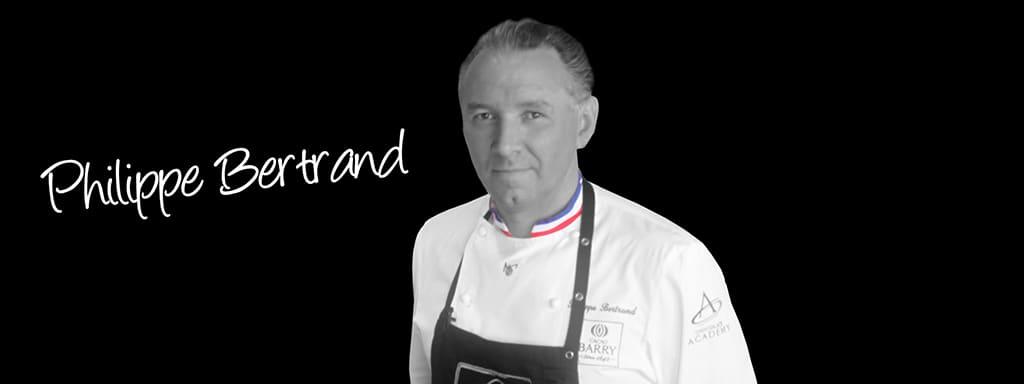 master chocolatier Philippe Bertrand
