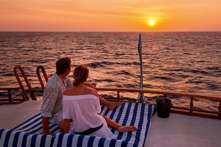 Sunset Cruise - Constance Halaveli Maldives
