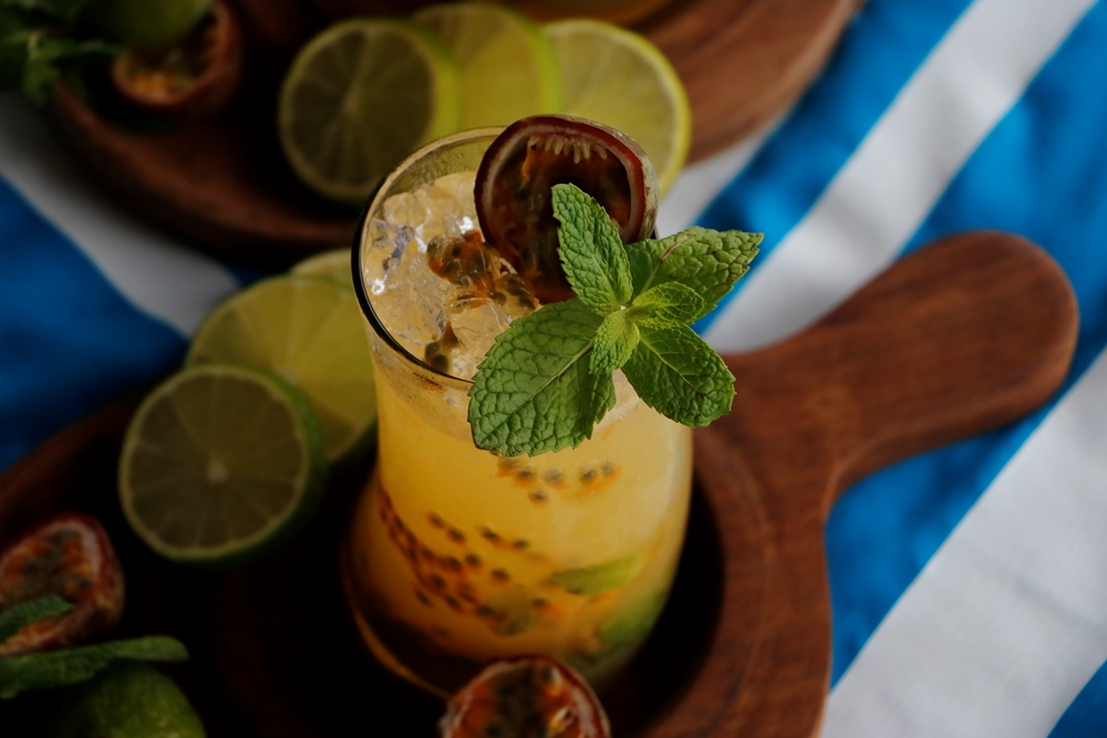 Virgin Passion Fruit Mojito