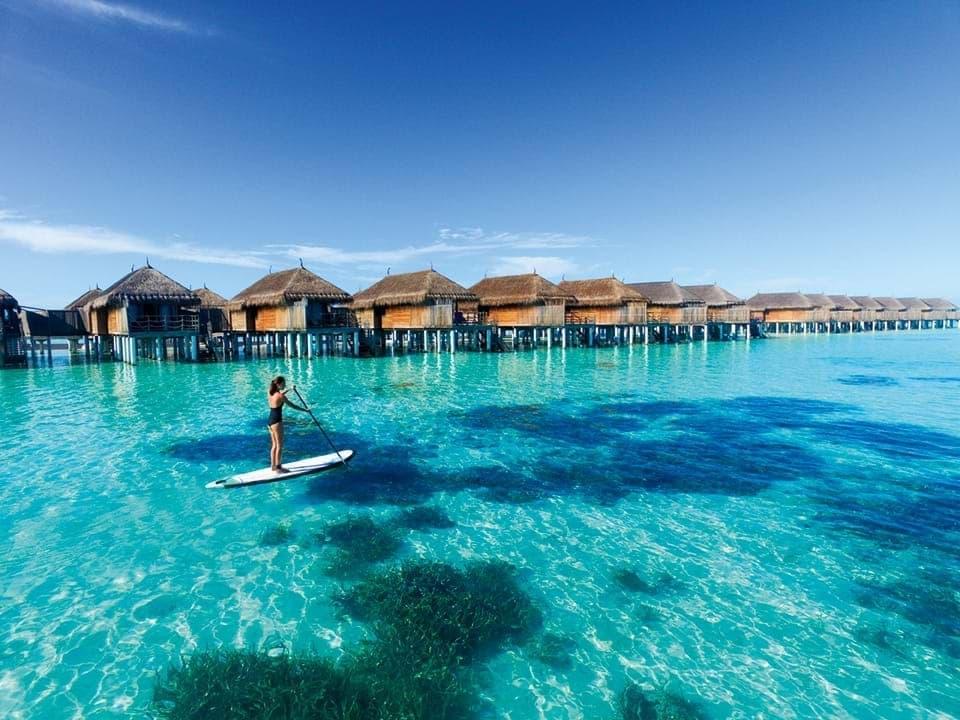 Vacances les pieds dans l'eau
