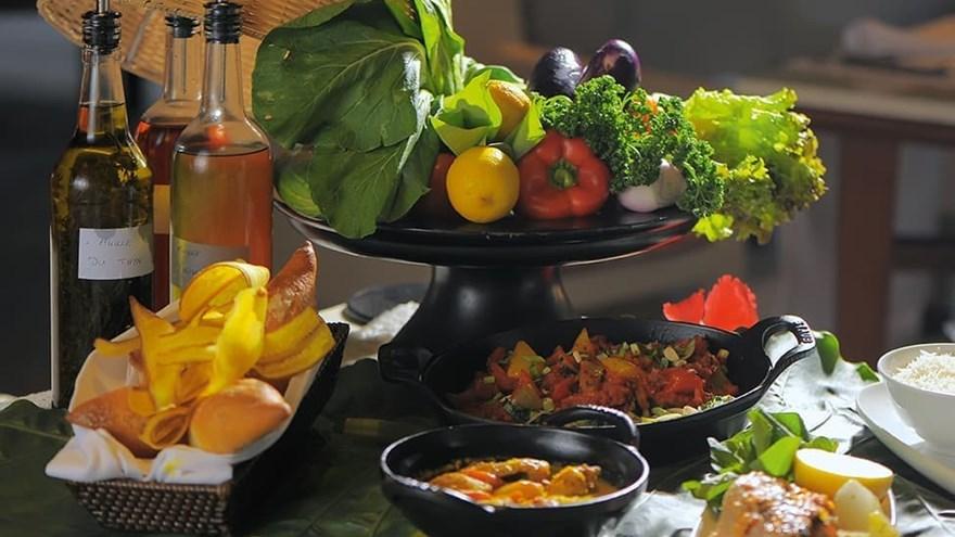 Spanish Degustation Menu in the Seychelles