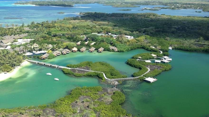 Aerial View of Constance Le Prince Maurice