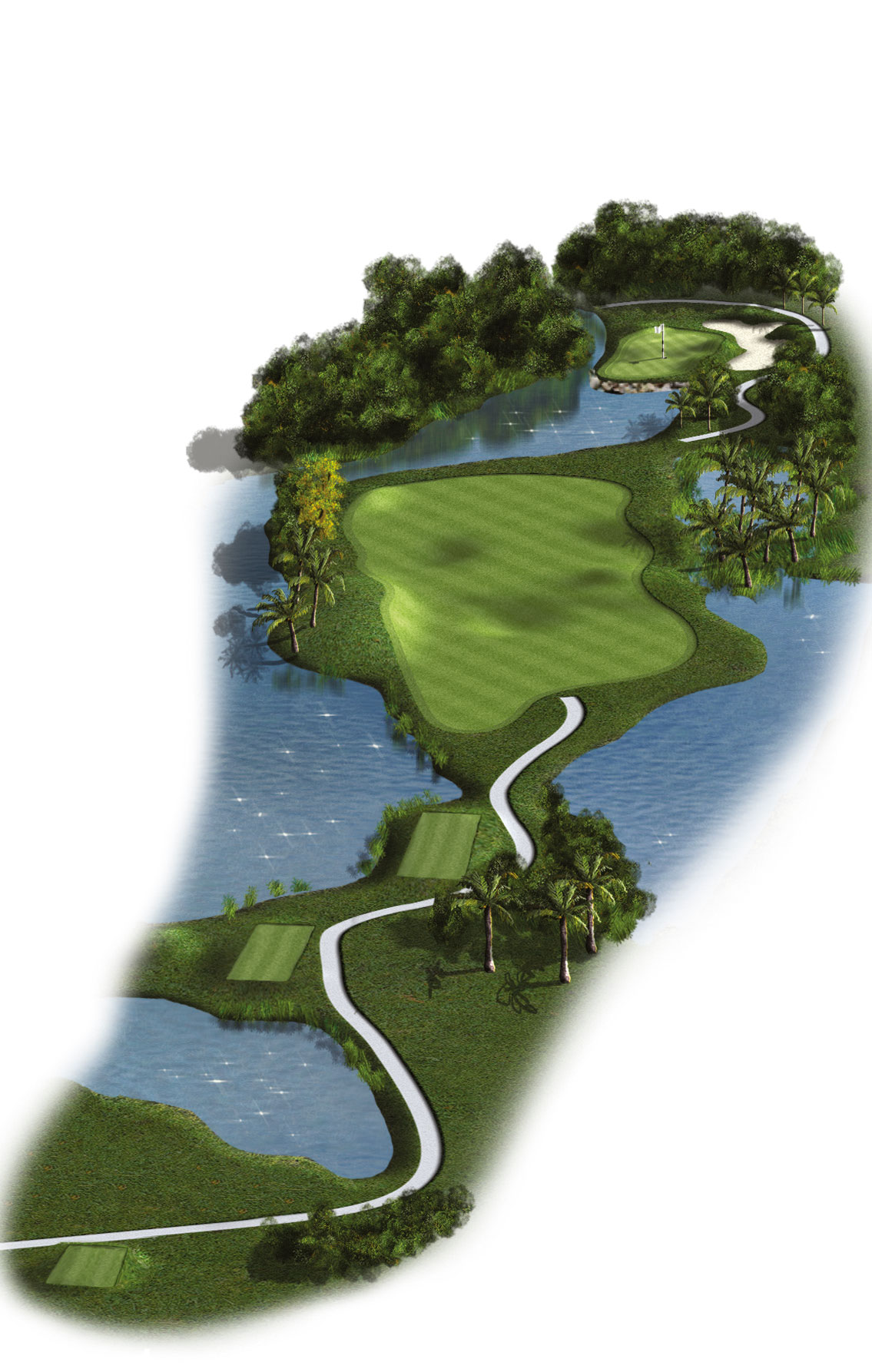 7th Hole - Par 4 (411 meters/449 yards)