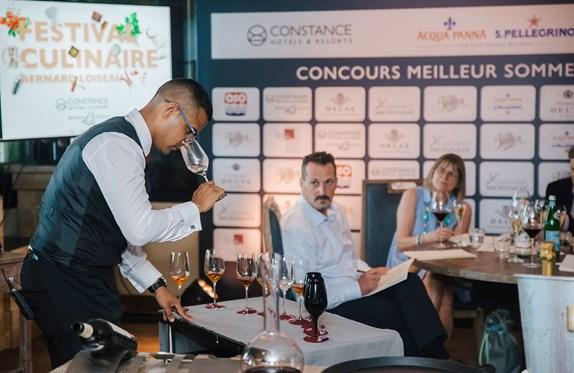 Sommelier Competition - 2019 Festival Culinaire Bernard Loiseau