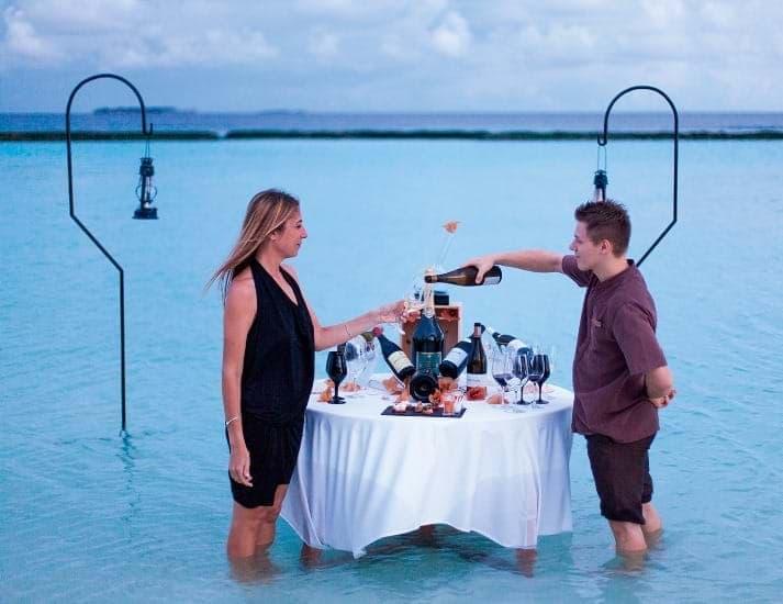 Lagoon wine tasting