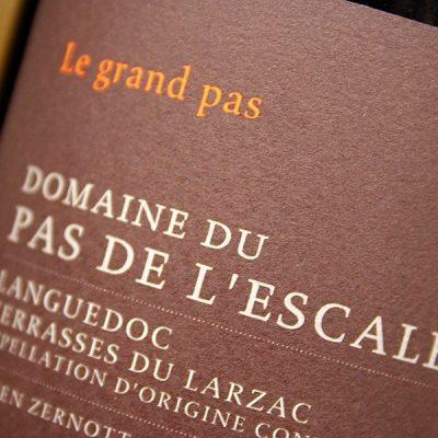 Côteaux du Languedoc, Le Grand Pas, Domaine Du Pas de L'escalette 2015