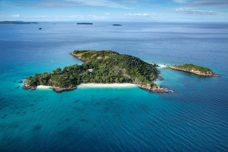 aerial view :Tsarabanjina island