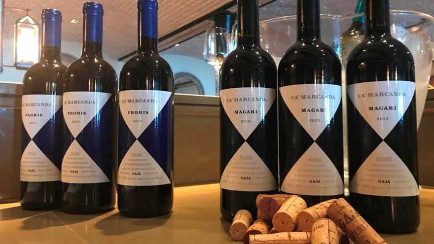 Wine tasting & Sommeliers' atelier with Gaia Gaja at Blue Penny Cellar