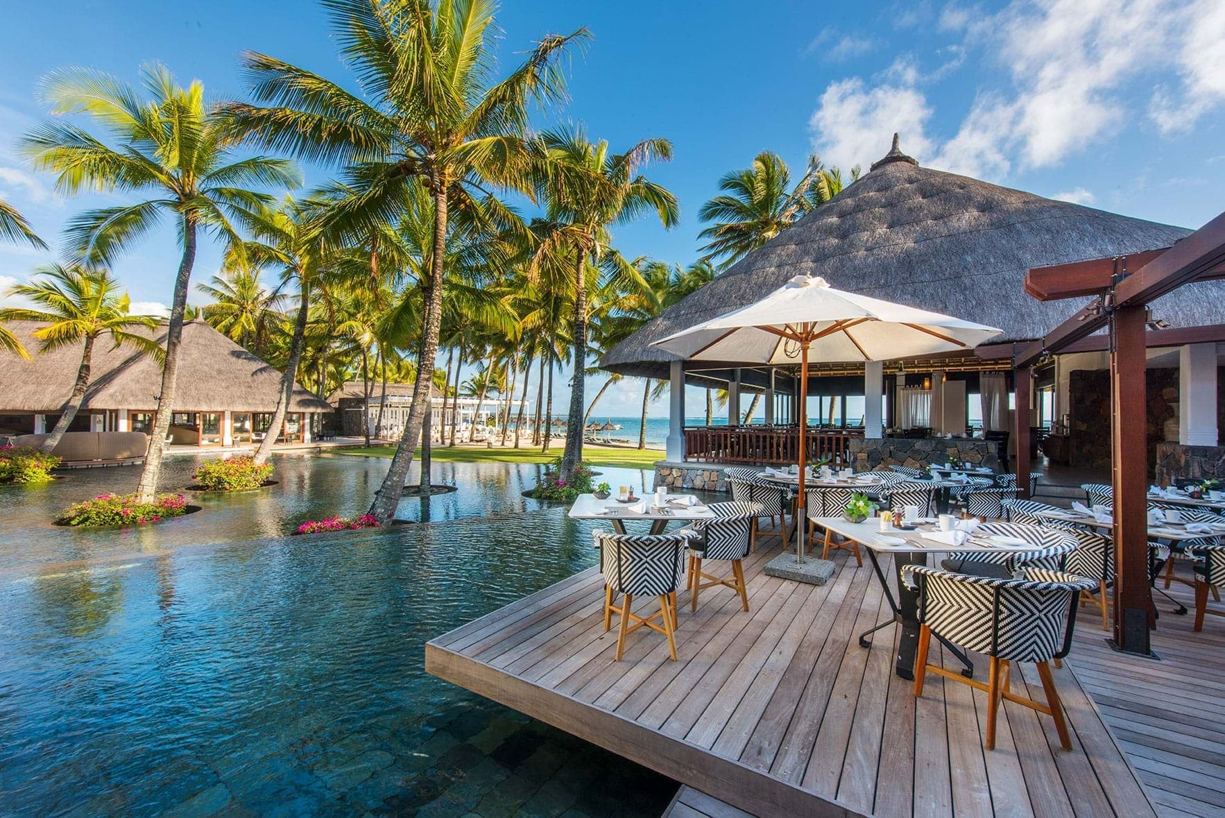 La Citronelle Restaurant| Sunny Breakfast at Constance Belle Mare Plage