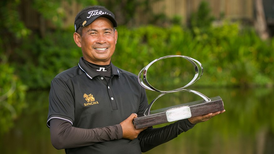 2017 MCB Tour Championship winner: Thaworn Wiratchant