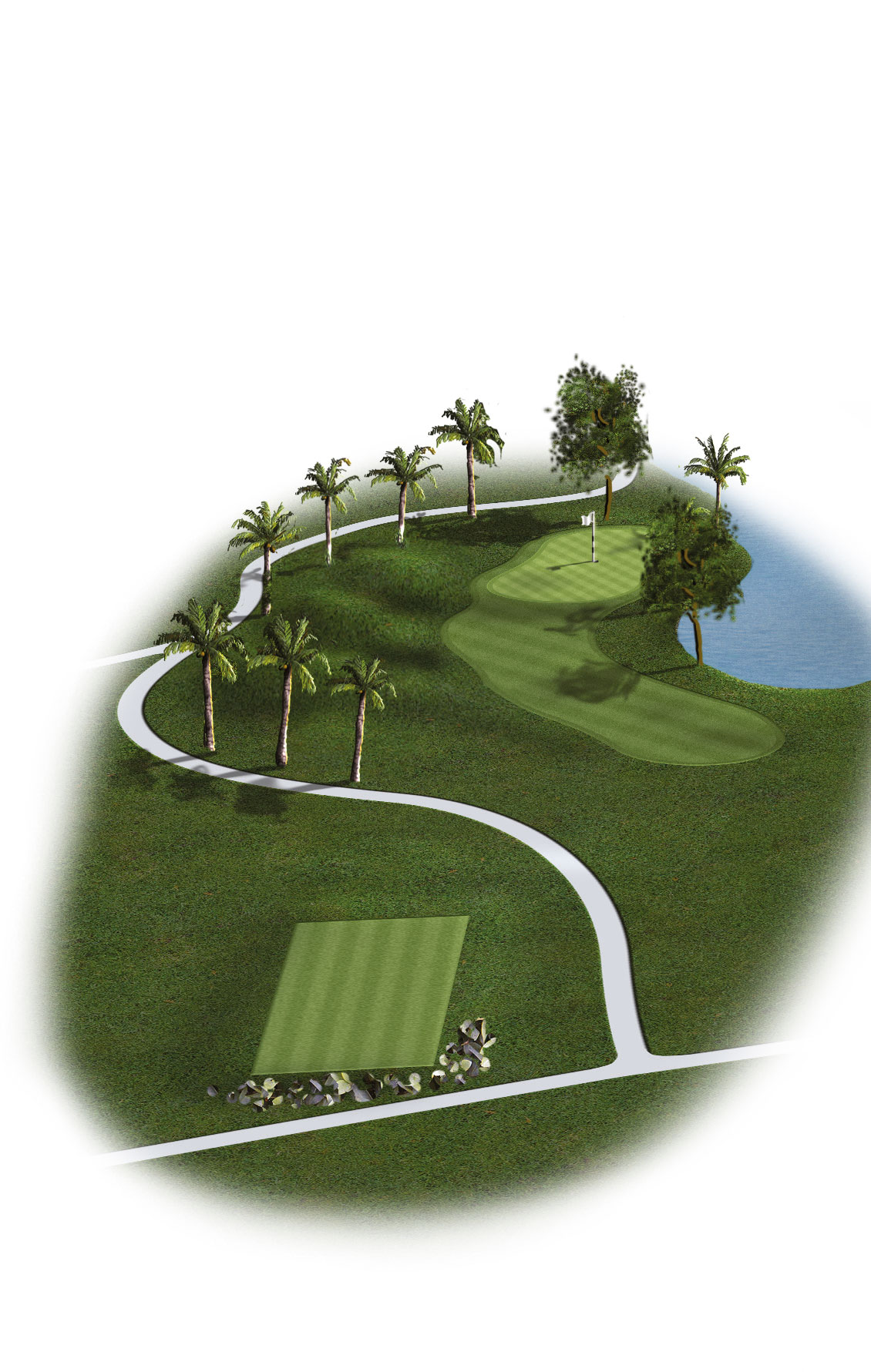 10th Hole - Par 3 (154 meters/168 yards)