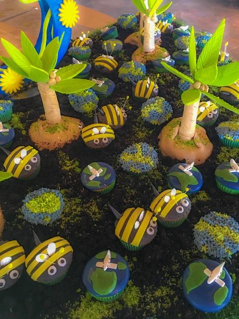 Earth Day Cupcakes|Constance Halaveli