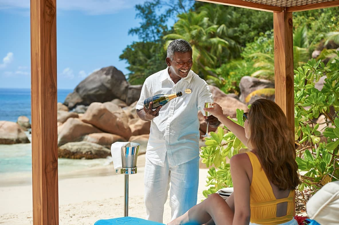 Earn double miles at Constance Lemuria Seychelles