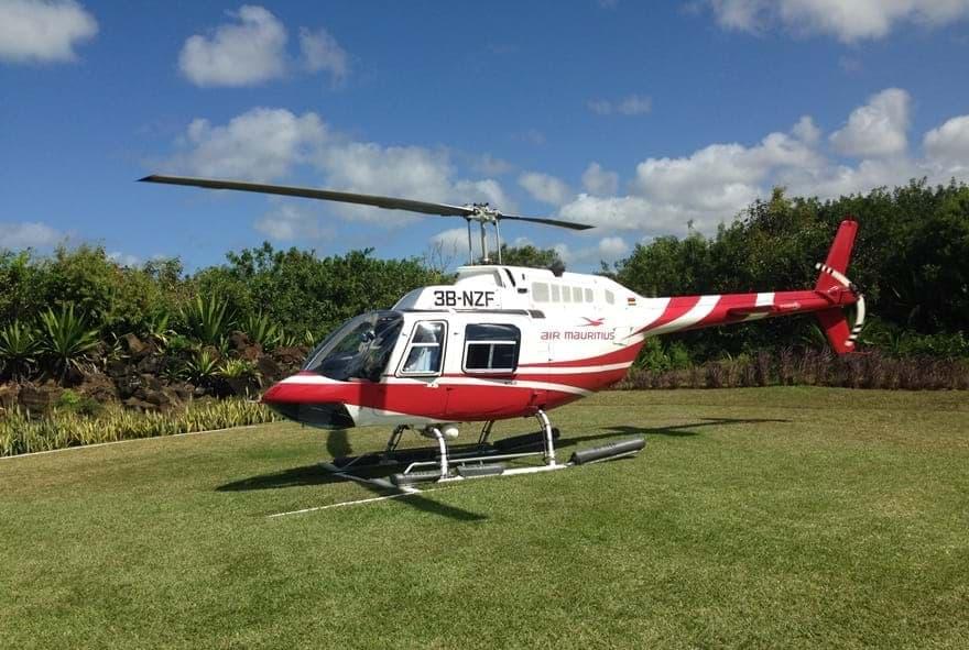 Hélicoptère Air Mauritius