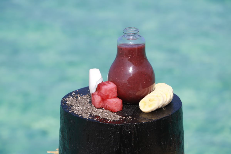 Healthy Smoothie at Constance Halaveli