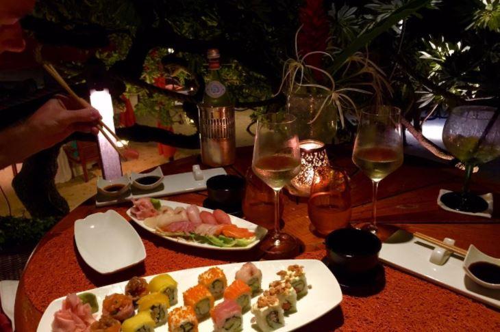 Sushi at Constance Prince Maurice/Image credit: AmyT, Tripadvisor