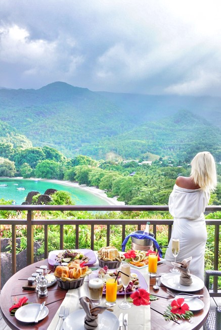 Breakfast with a view|Hillside Villa|Constance Ephelia
