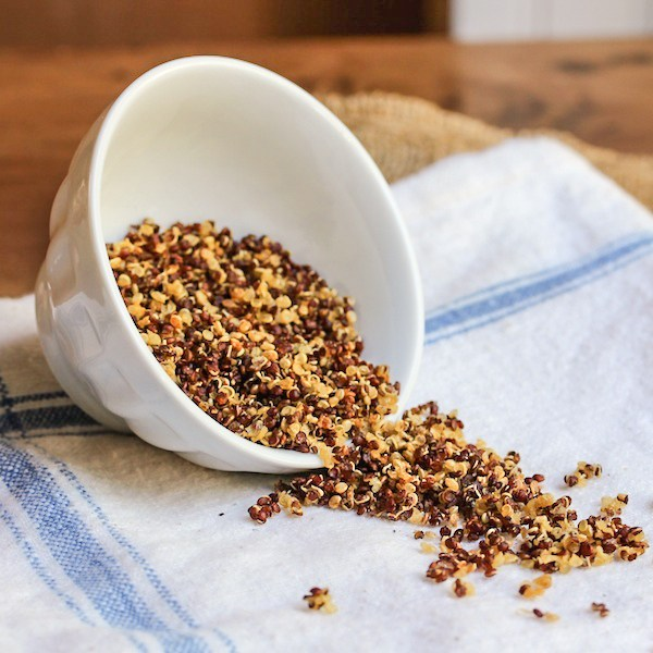 CrispyQuinoa|ImageSource: The Wimpy Vegetarian