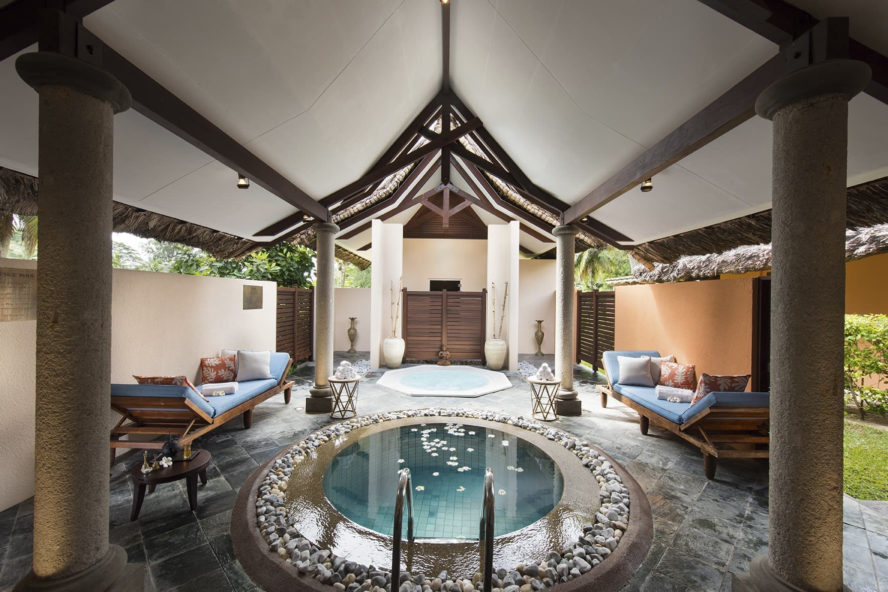 Relaxation in Lemuria at the Spa