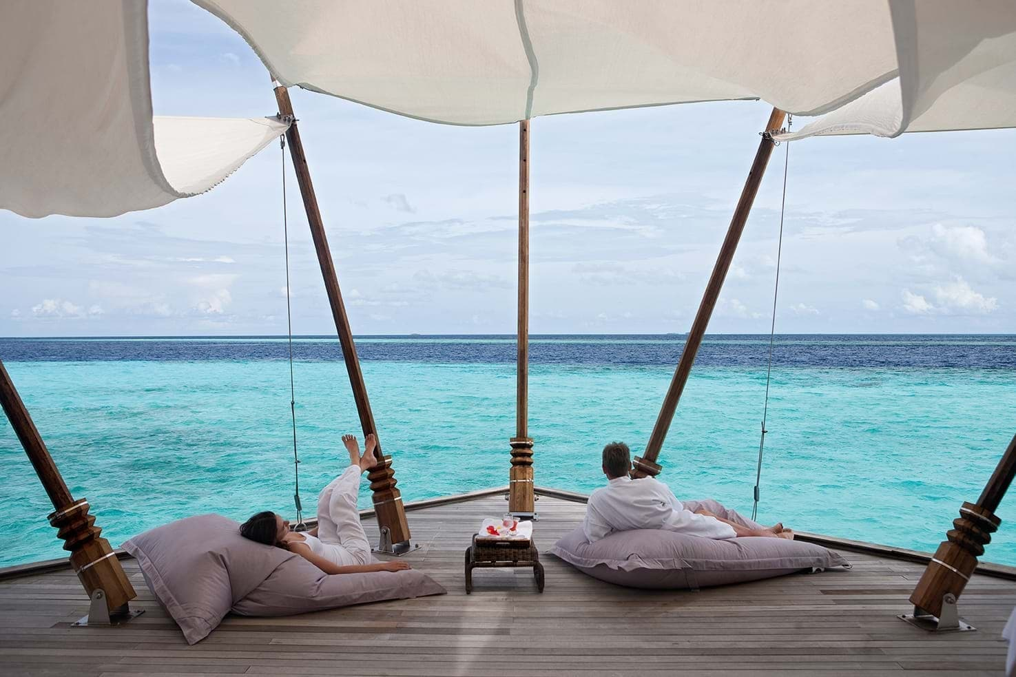 Romantic retreat in the Maldives
