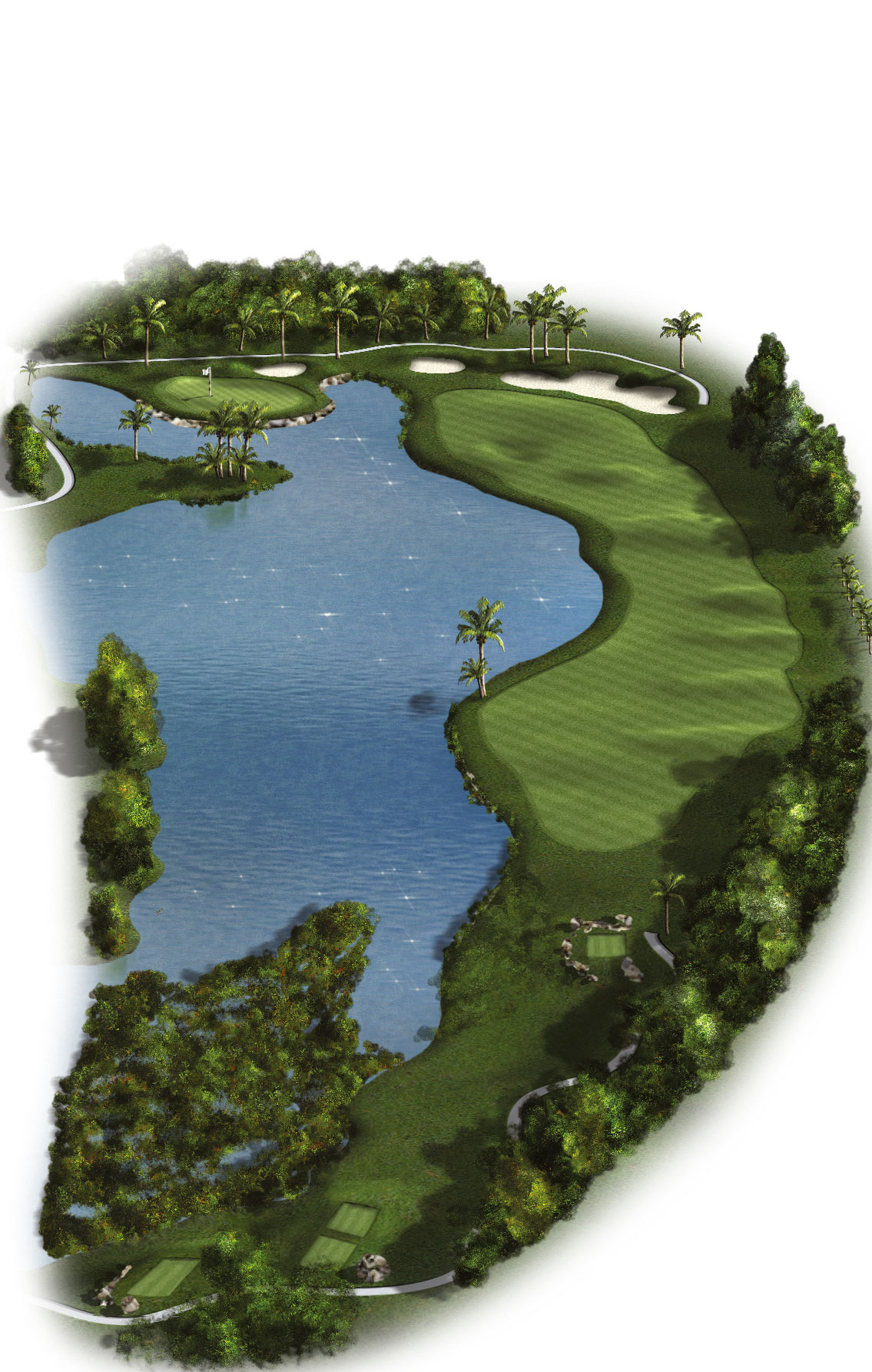 6th Hole - Par 5 (461 meters/507 yards)