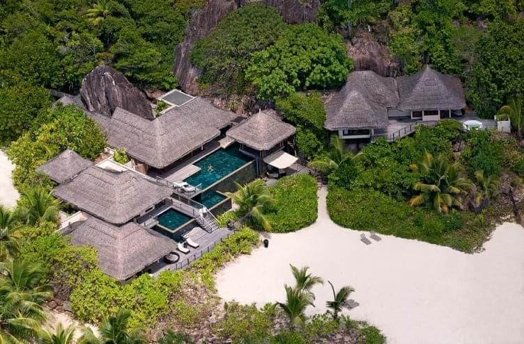 Presidential Villa at Constance Lemuria Seychelles