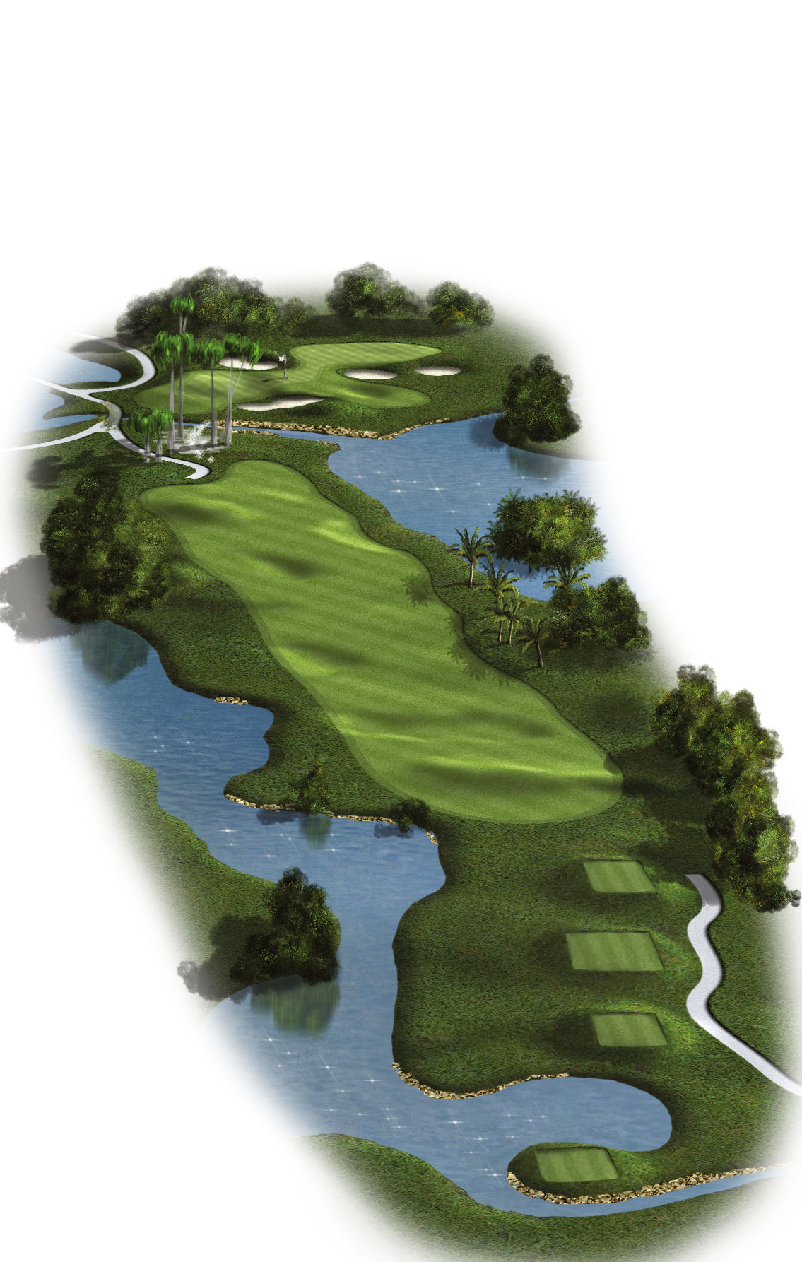 4th Hole - Par 4 (386 meters/425 yards)