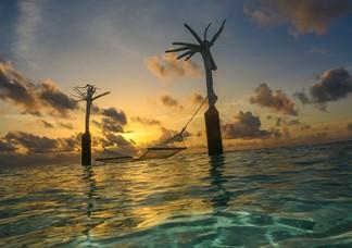 Couchers de soleil sur  L'ocean Indien – Uniques au Monde?