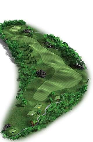 6th hole - 504 mts Par 5
