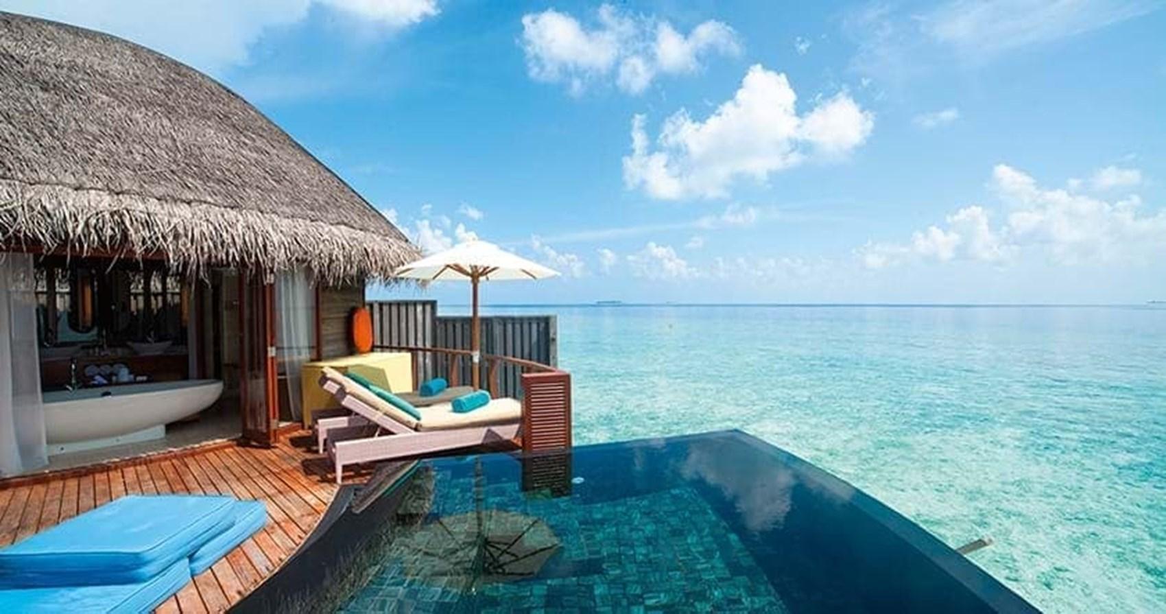 Constance halaveli maldives - The star shaped villa ...