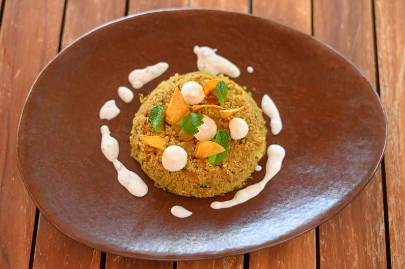 Quinoa Biryani|Constance Moofushi