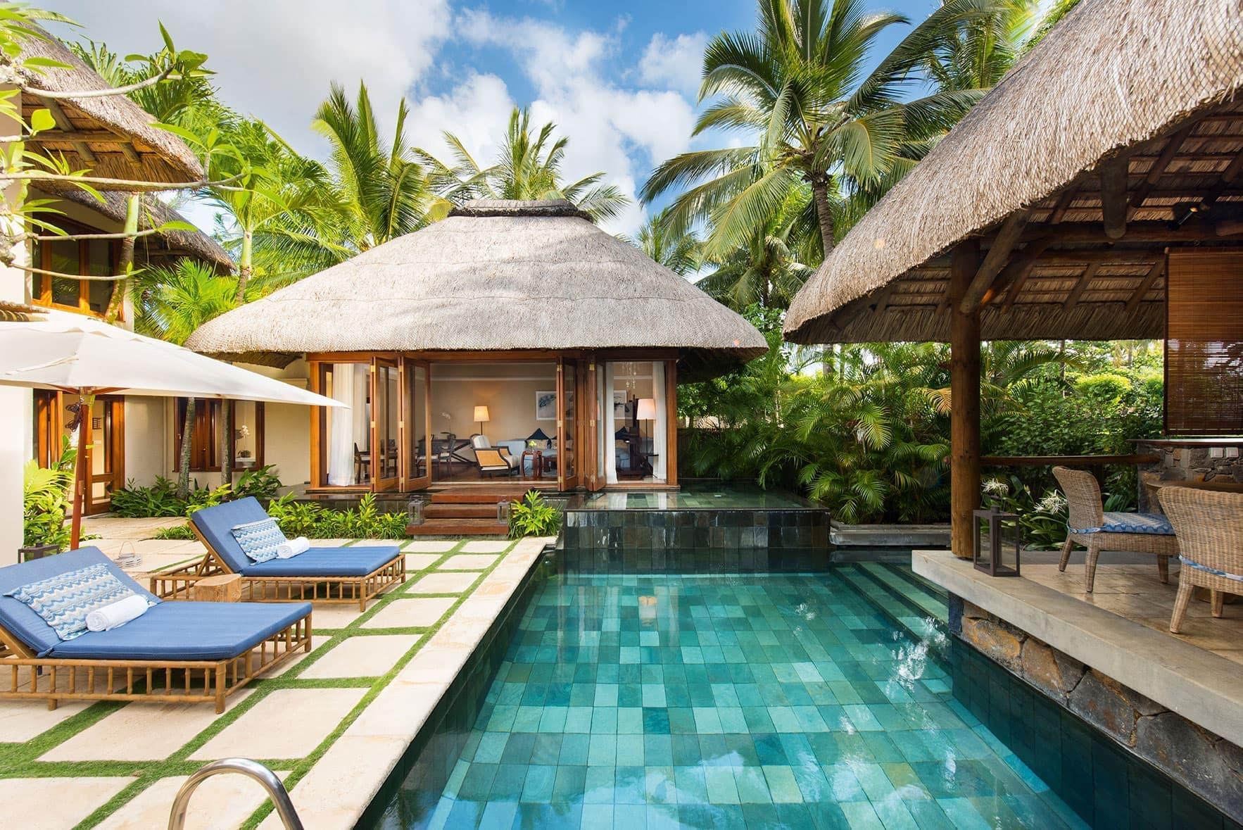 花园泳池别墅