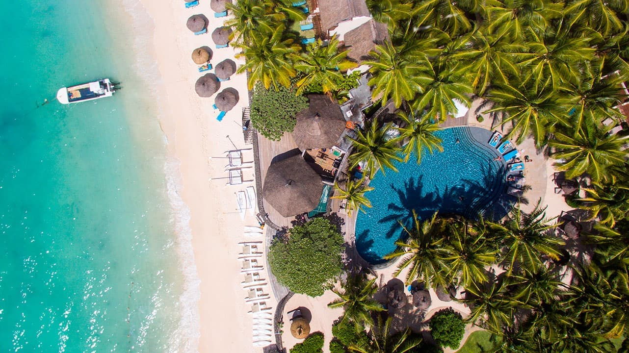 Constance Belle Mare Plage|Mauritius|Aerial View