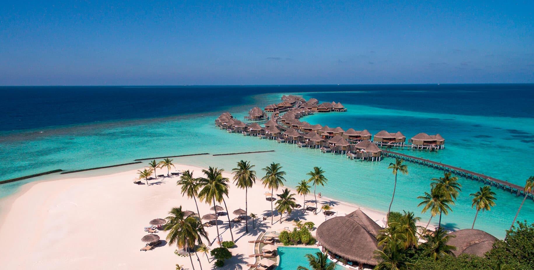 Aerial View|Constance Halaveli|Maldives
