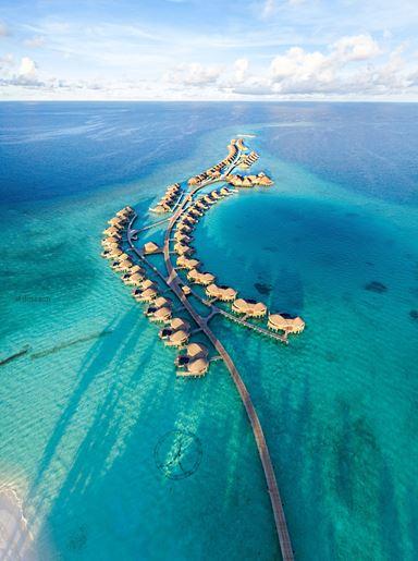 Aerial picture|Constance Halaveli Maldives|Image credit:@dotzsoh