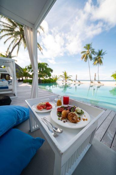 Breakfast at Constance Halaveli|Image Credit:@dotzsoh