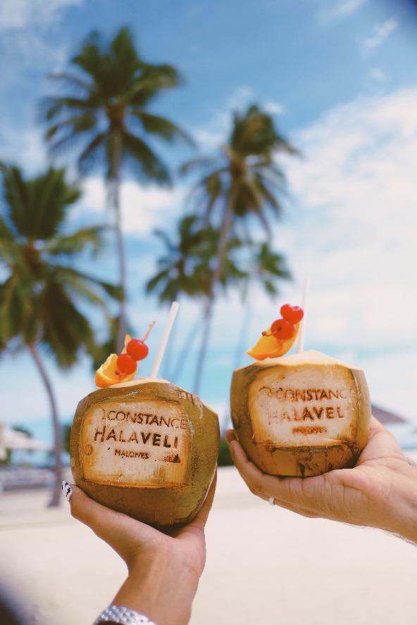 Tropical cocktail|Constance Halaveli|Maldives